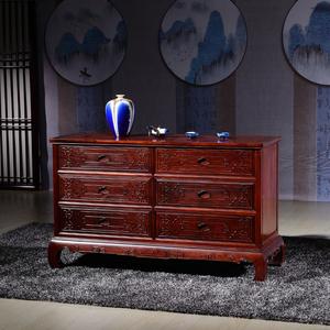 鱼缸柜摆设效果图_东阳市传祥红木家具有限公司